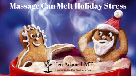 Massage Can Melt Holiday Stress